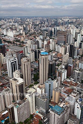 Assunto: Vista aérea de São Paulo / Local: Itaim Bibi - São Paulo (SP) - Brasil / Data: 03/2011