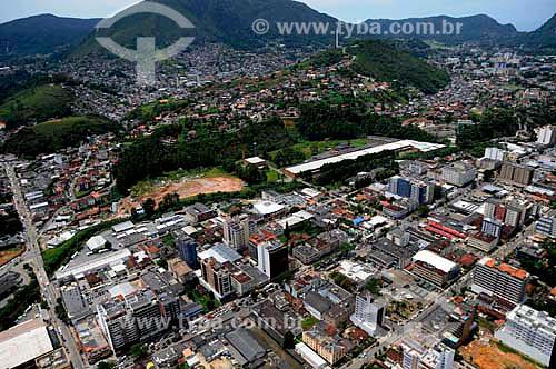 Assunto: Vista aérea da cidade de Teresópolis na Região Serrana Fluminense  / Local: Teresópolis - Rio de Janeiro (RJ) - Brasil / Data: 01/2011