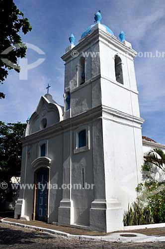 Assunto: Igreja de São Benedito construida em 1701   / Local: Passagem - Cabo Frio - Rio de Janeiro (RJ) - Brasil  / Data: 12/2010