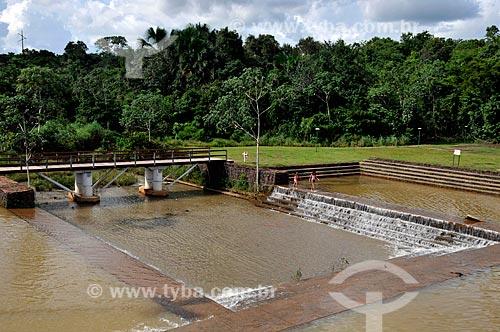Assunto: Crianças brincando nas piscinas naturais do Parque Cesamar  / Local: Palmas - Tocantins (TO) - Brasil / Data: 02/2011