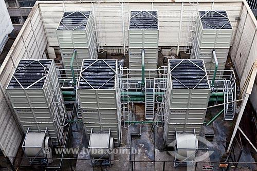 Assunto: Torres de resfriamento de água do Shopping Cidade / Local: Belo Horizonte - Minas Gerais (MG) - Brasil / Data: 03/2011