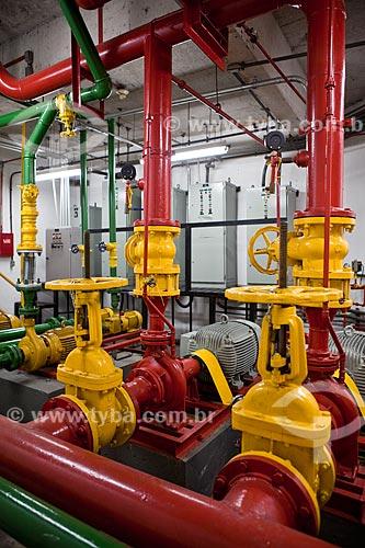 Assunto: Casa de máquinas do Shopping Cidade / Local: Belo Horizonte - Minas Gerais (MG) - Brasil / Data: 03/2011