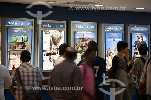 Assunto: Cinema do Mogi Shopping  / Local: Belo Horizonte - Minas Gerais (MG) - Brasil / Data: 03/2011