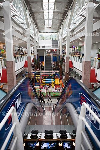 Assunto: Átrio e parque infantil do Itaú Power Shopping / Local: Belo Horizonte - Minas Gerais (MG) - Brasil / Data: 03/2011