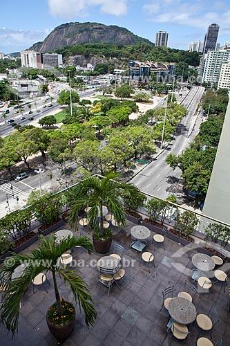 Assunto: Vista do terraço do Botafogo Praia Shopping / Local: Botafogo - Rio de Janeiro (RJ) - Brasil / Data: 03/2011