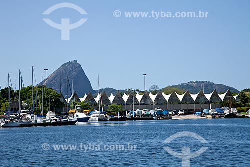 Assunto: Vista da Marina da Glória com Pão de Açúcar ao fundo / Local: Glória - Rio de Janeiro - RJ - Brasil / Data: 11/2010