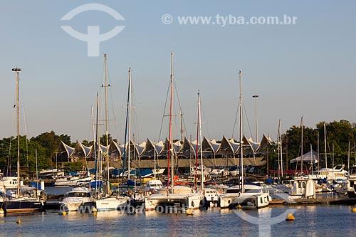 Assunto: Barcos na Marina da Glória / Local: Glória - Rio de Janeiro - RJ - Brasil / Data: 02/2011