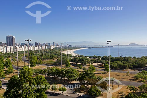 Assunto: Vista do Parque do Flamengo / Local: Rio de Janeiro  -  RJ  -  Brasil / Data: 02/2011