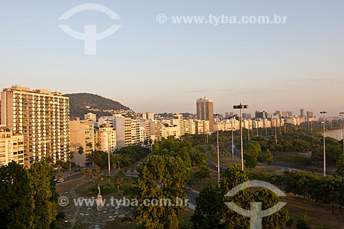 Assunto: Vista do Parque e prédios do Flamengo / Local: Rio de Janeiro  -  RJ  -  Brasil / Data: 02/2011