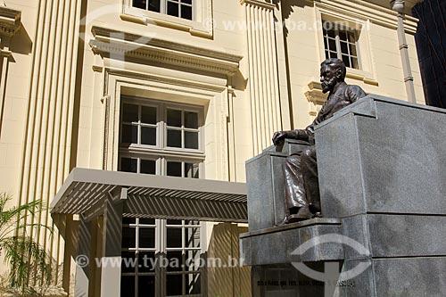Assunto: Estátua de Machado de Assis -  Academia Brasileira de Letras  (ABL) / Local: Rio de Janeiro - RJ - Brasil / Data: 02/2011