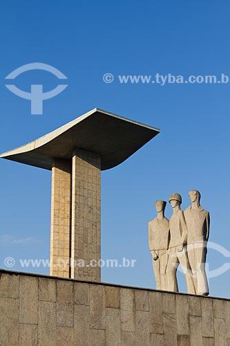 Assunto: Monumento aos Mortos da Segunda Guerra Mundial - Monumento aos Pracinhas / Local: Centro - Rio de Janeiro (RJ) - Brasil  / Data: 02/2011