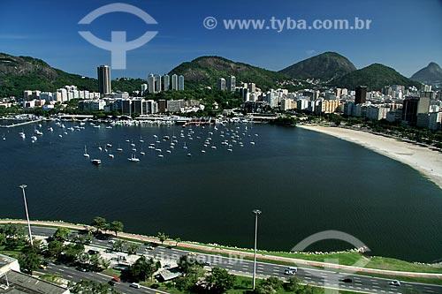 Assunto: Vista aérea da Enseada de Botafogo / Local: Botafogo - Rio de Janeiro (RJ) - Brasil  / Data: 03/2011