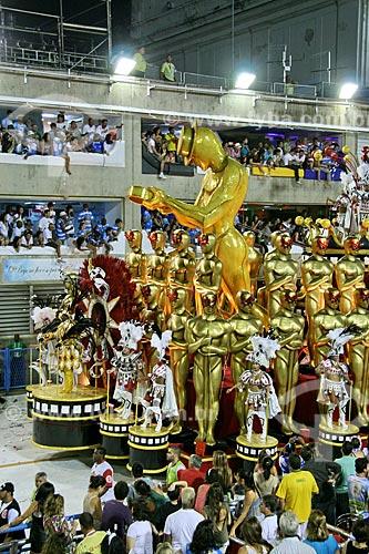 Assunto: Desfile da Escola de Samba Salgueiro / Local: Rio de Janeiro (RJ) - Brasil  / Data: 03/2011