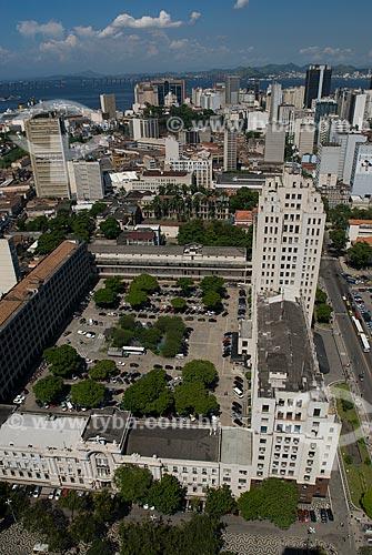 Assunto: Vista aérea do Palácio Duque de Caxias / Local: Centro - Rio de Janeiro (RJ) - Brasil  / Data: 12/2009