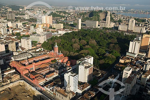 Assunto: Vista aérea da Praça da República e do Quartel do Comando-geral do Corpo de Bombeiros / Local: Centro - Rio de Janeiro (RJ) - Brasil  / Data: 11/2009