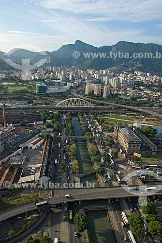 Assunto: Vista aérea da Avenida Francisco Bicalho / Local: Centro - Rio de Janeiro (RJ) - Brasil  / Data: 11/2009