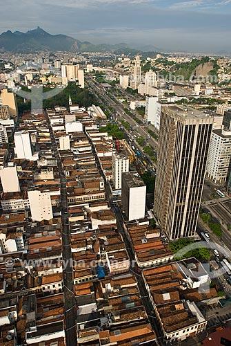 Assunto: Vista aérea do SAARA (Sociedade de Amigos das Adjacências da Rua da Alfândega) e do prédio do DETRAN / Local: Centro - Rio de Janeiro (RJ) - Brasil  / Data: 11/009