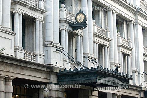 Assunto: Detalhe da fachada do prédio da Light / Local: Centro - Rio de Janeiro (RJ) - Brasil  / Data: 11/2009