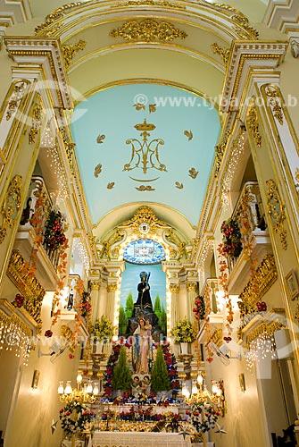 Assunto: Altar na Igreja Nossa Senhora Terço Venerável / Local: Centro - Rio de Janeiro (RJ) - Brasil / Data: 11/2009