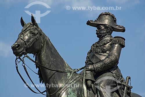 Assunto: Monumento a Duque de Caxias / Local: Centro - Rio de Janeiro (RJ) - Brasil  / Data: 11/2009