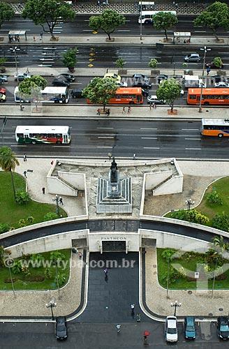 Assunto: Vista aérea do Pantheon de Duque de Caxias / Local: Centro - Rio de Janeiro (RJ) - Brasil  / Data: 12/2009