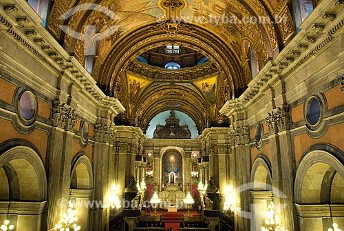 Assunto: Vista do altar-mor da Igreja de Nossa Senhora da Candelária / Local: Centro - Rio de Janeiro (RJ) - Brasil  / Data: 12/2009