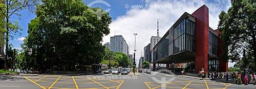 Assunto: Vista Panorâmica da Avenida Paulista / Local: São Paulo (SP) - Brasil / Data: 12/2009