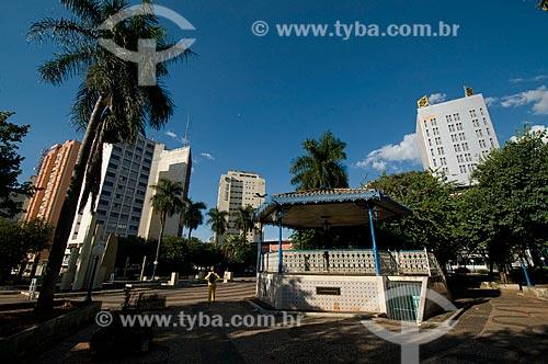 Assunto: Praça Rui Barbosa também conhecida como Praça do Boi    / Local: Araçatuba - São Paulo (SP) - Brasil / Data: 04/2010
