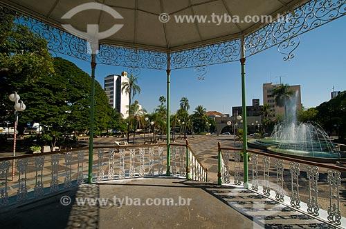 Assunto: Vista da Praça Rui Barbosa  / Local: Bauru - São Paulo (SP) - Brasil / Data: 04/2010
