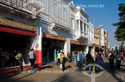 Assunto: Centro comercial na  Praça Governador Pedro de Toledo / Local: Jundiaí - São Paulo (SP) - Brasil / Data: 06/2010
