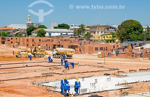 Assunto: Construção de moradias populares no lugar de palafitas / Local: Manaus - Amazônia (AM) - Brasil / Data: 06/2010