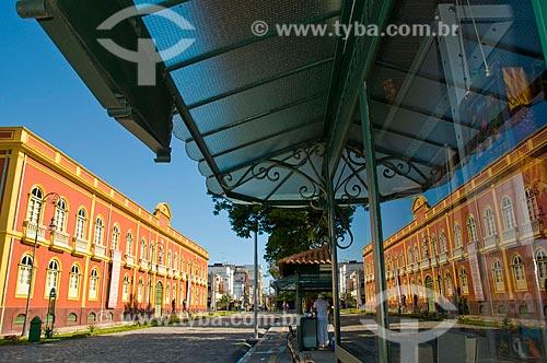 Assunto: Palacete Provincial localizado na Praça Heliodóro Balbi - construído em 1861 / Local: Manaus - Amazônia (AM) - Brasil / Data: 06/2010