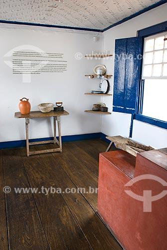 Assunto: Interior da casa do Presidente Juscelino Kubitschek  / Local: Diamantina - Minas Gerais (MG) - Brasil / Data: 02/2008