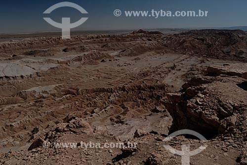Assunto: Vale da Lua (Valle de la Luna) vista do mirante  / Local: Chile - América do Sul / Data: 01/2011