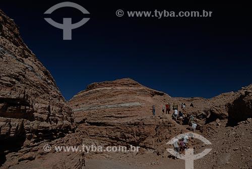 Assunto: Turistas no Vale da Morte (Vale de la Muerte)  / Local: Chile - América do Sul / Data: 01/2011