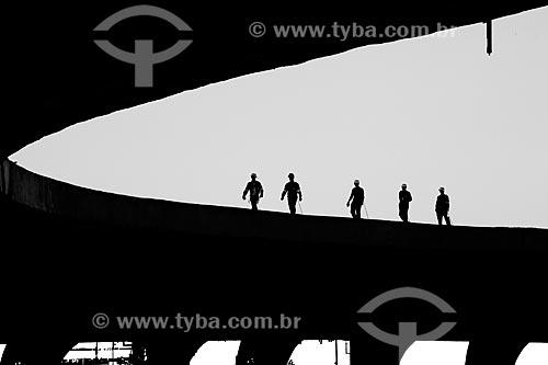 Assunto: Vista da marquise do Estádio Jornalista Mário Filho  (Maracanã) -  em obras preparatórias da Copa do Mundo de 2014  / Local: Rio de Janeiro  (RJ) -  Brasil / Data: 02/2011