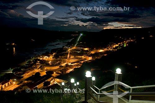 Assunto: Vista noturna da cidade de Piranhas / Local: Piranhas - Alagoas (AL) - Brasil / Data: 04/2010