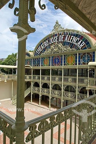 Assunto: Teatro José de Alencar / Local: Fortaleza - Ceará (CE) - Brasil / Data: 04/2010