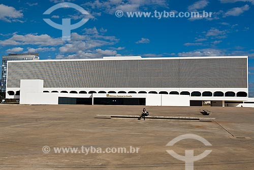 Assunto: Biblioteca Nacional de Brasília / Local: Brasília - Distrito Federal (DF) - Brasil  / Data: 04/2010
