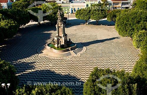 Assunto: Monumento à abertura dos portos na Praça São Sebastião - Centro histórico / Local: Manaus - Amazonas (AM) - Brasil / Data: 06/2010