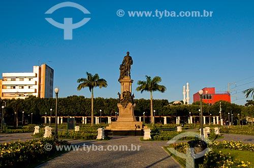 Assunto: Monumento a Tenreiro Aranha na Praça da Saudade - Fundador da Província do Amazonas / Local: Manaus - Amazonas (AM) - Brasil / Data: 06/2010