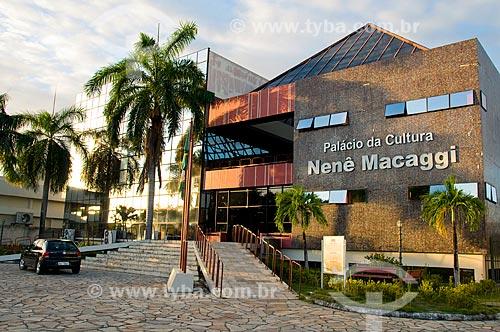 Assunto: Palácio da Cultura Nenê Macaggi - Biblioteca Pública do Estado de Roraima / Local: Boa Vista - Roraima (RR) - Brasil / Data: 05/2010