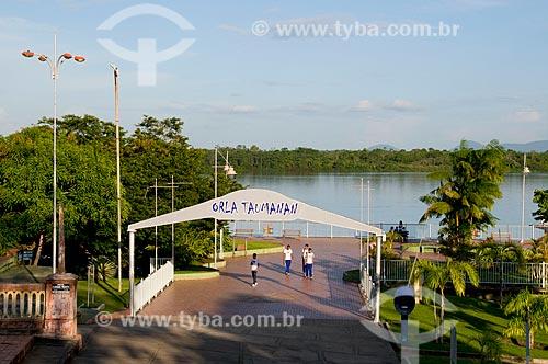 Assunto: Orla Taumanan nas margens do Rio Branco / Local: Boa Vista - Roraima (RR) - Brasil / Data: 05/2010