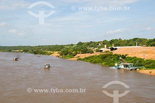 Assunto: Porto de areia e cerâmicas nas margens do Rio Branco / Local: Boa Vista - Roraima (RR) - Brasil / Data: 05/2010
