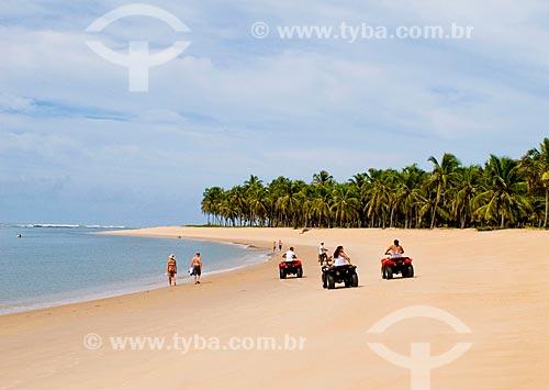 Assunto: Praia do Gunga / Local: Roteiro - Alagoas (AL) - Brasil / Data: 05/2010