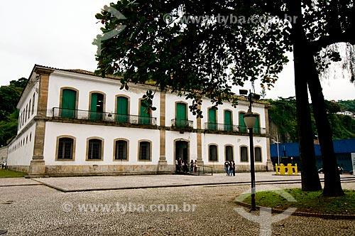 Assunto: Antiga casa de cãmara e cadeia de Santos - Atual Casa de Cultura / Local: Santos - São Paulo (SP) - Brasil / Data: 05/2010