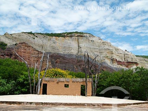 Assunto: Vista do palco do Anfiteatro da Pedra Furada - Parque Nacional Serra da Capivara / Local: São Raimundo Nonato - Piauí (PI) - Brasil / Data: 03/2011