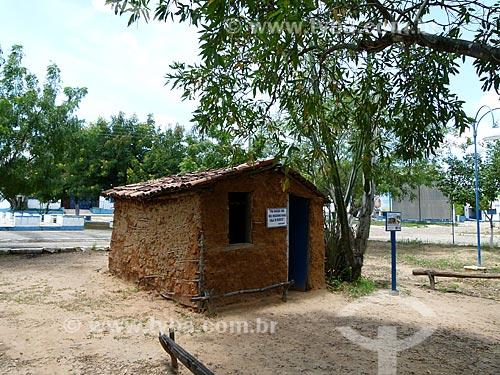 Assunto: Réplica de uma casa de reboco - Museu do Gonzagão / Local: Exu - Pernambuco (PE) - Brasil / Data: 03/2011