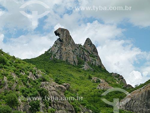 Assunto: Pedra da Galinha Choca / Local: Quixadá - Ceará (CE) - Brasil / Data: 03/2011