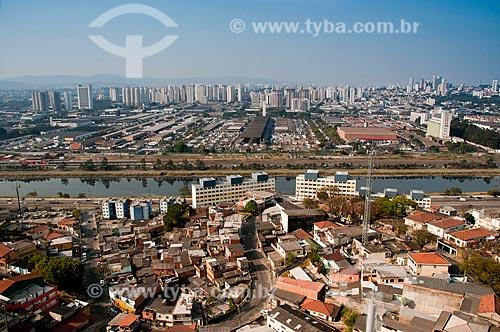 Assunto: Vista aérea do bairro Vila Leopoldina - Zona Oeste de São Paulo / Local: São Paulo - São Paulo (SP) - Brasil / Data: 08/2010